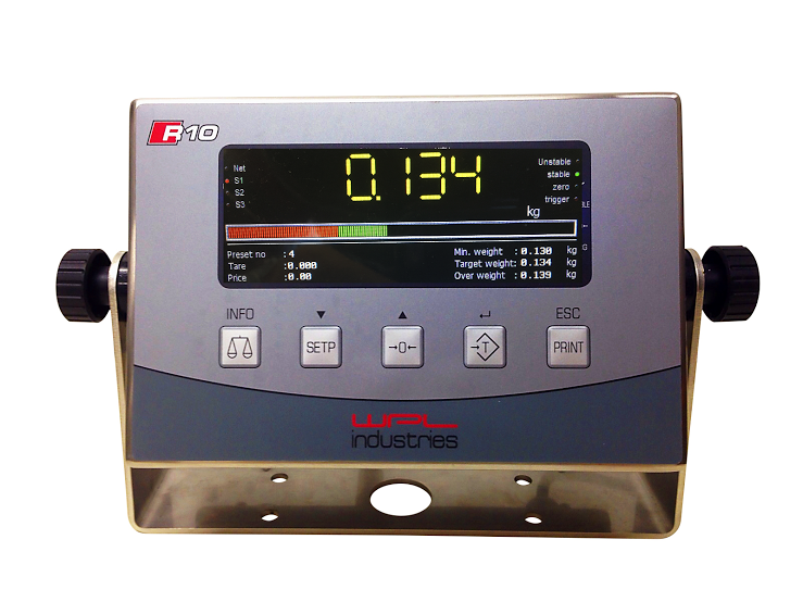 R10 Touch XL Indicator | Weighing Machine Manufacturing Company